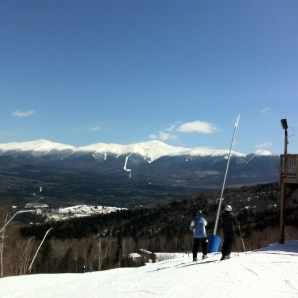 Photo taken at Bretton Woods by Joe W. on 4/6/2013