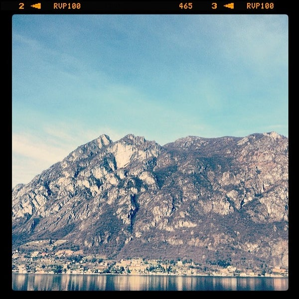 Photo taken at Lago di Lugano by saimon j. on 2/16/2014