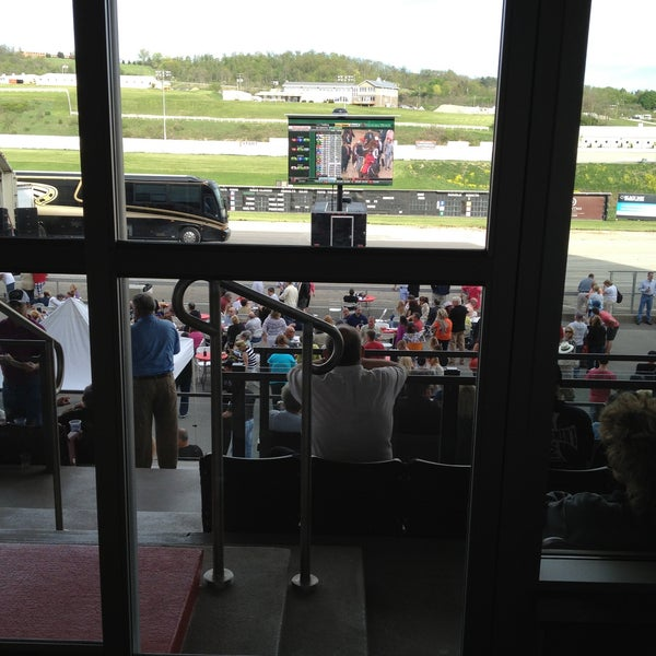 Photo taken at Meadows Racetrack & Casino by Benjamin J. on 5/4/2013