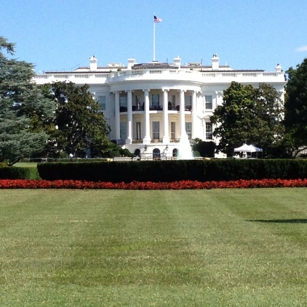Photo taken at The White House by Erikjan B. on 7/29/2013