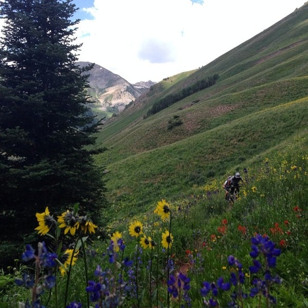 Photo taken at Crested Butte, CO by Stephanie on 7/26/2014