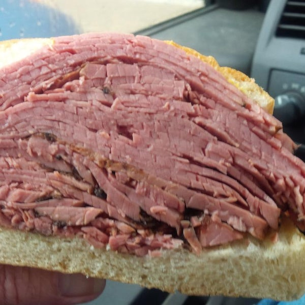 Photo taken at Centre Street Deli by Jim C. on 10/31/2014