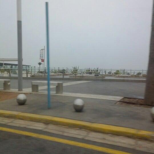 Photo taken at La Corniche de Casablanca by Ahmed E. on 2/16/2013