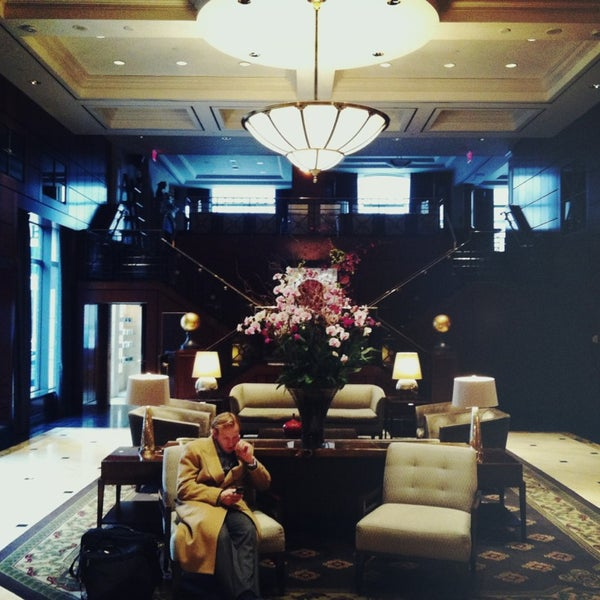 Photo taken at Park Hyatt Toronto by Jack P. on 1/21/2013
