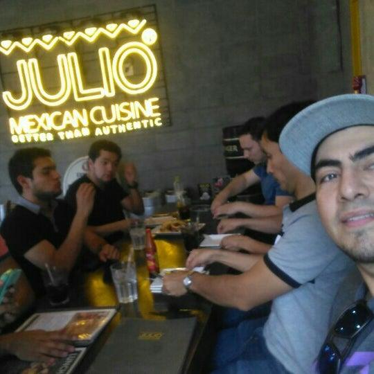 Photo taken at 훌리오 (Julio) by Jorge P. on 9/5/2015