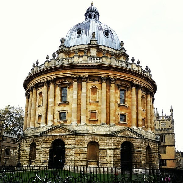 Photo taken at Radcliffe Camera by Zeq C. on 11/18/2014