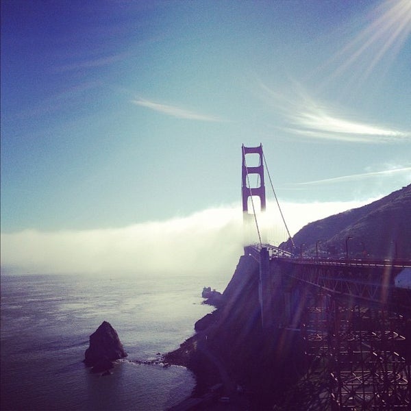 Photo taken at Vista Point by Miha R. on 11/26/2012