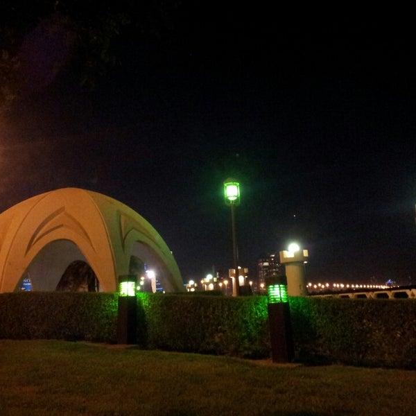 Photo taken at Corniche Al Gorm by Fit M. on 11/8/2013