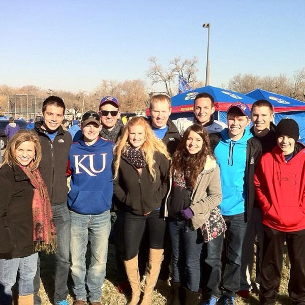 Photo taken at Memorial Stadium by Kansas Federation of College Republicans on 11/30/2013