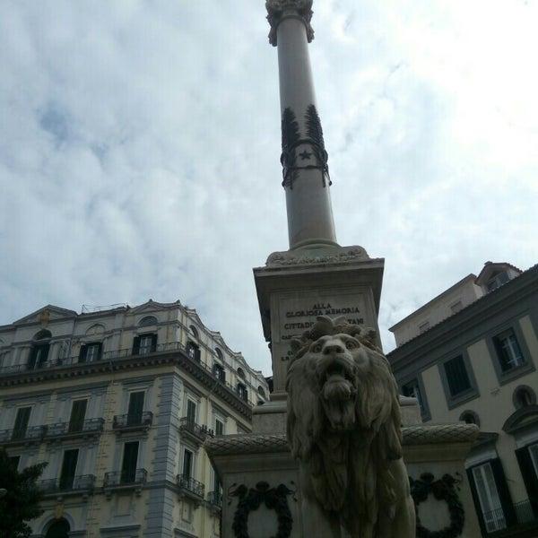 Photo taken at Piazza dei Martiri by Taras R. on 3/14/2016