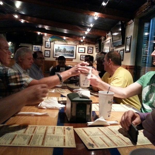 Photo taken at Quarterdeck Restaurant by Aaron R. on 3/30/2014