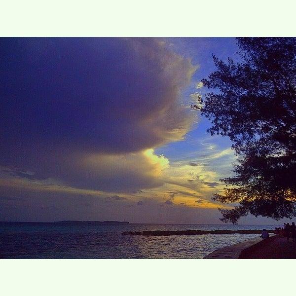 Photo taken at Pulau Pramuka by Dee DS on 7/1/2014