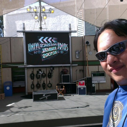 Photo taken at Universal's Animal Actors by Alexandre M. on 6/1/2014