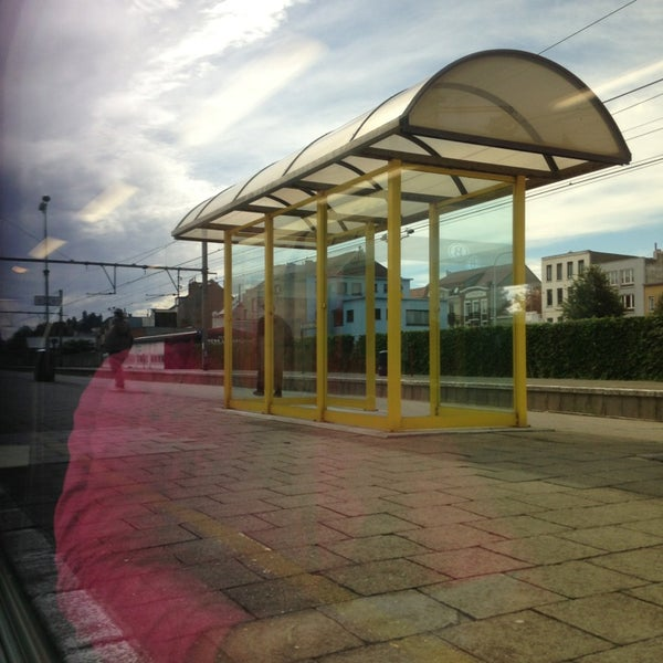 Photo taken at Station Blankenberge by Raïsa S. on 9/7/2013