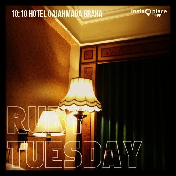 Photo taken at Hotel Gajahmada Graha by RARAS P. on 10/1/2013