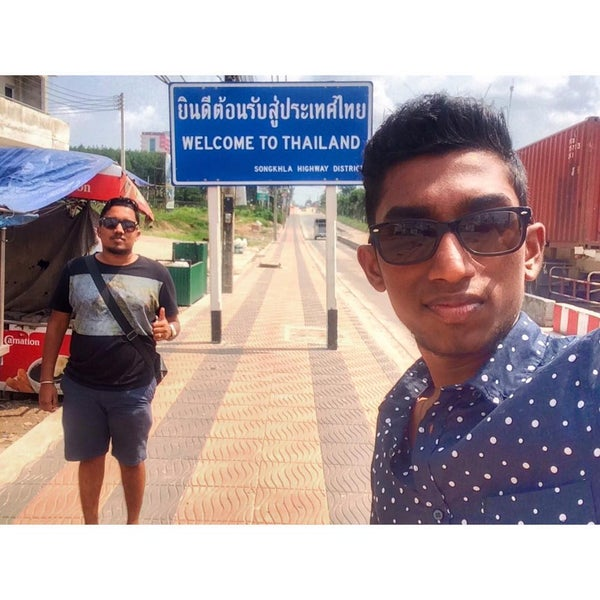 Photo taken at Bukit Kayu Hitam Immigration Complex by Sanjey R. on 7/30/2015