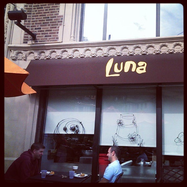 Photo taken at Luna Bakery Café by Dusko D. on 8/18/2013