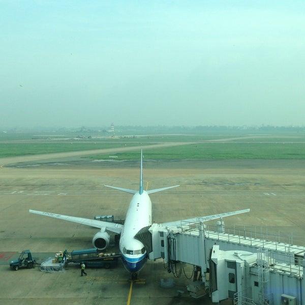 Photo taken at Tan Son Nhat International Airport (SGN) by Taufik R. on 7/8/2013
