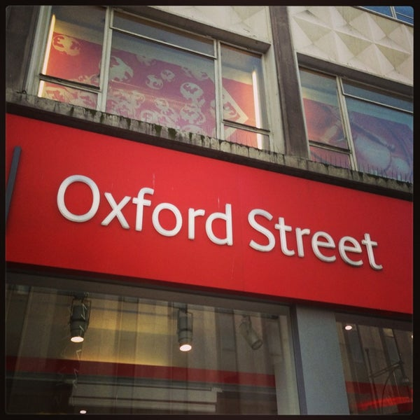 Photo taken at Oxford Street by Iw A. on 2/1/2013