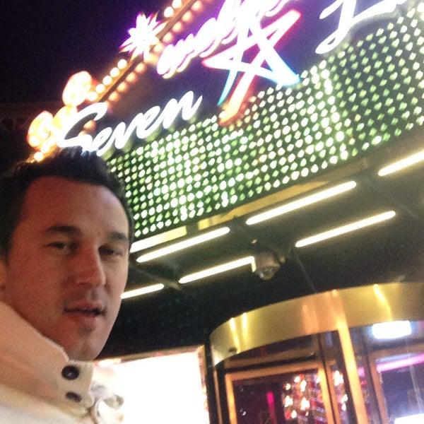 Photo taken at Seven Luck Casino by Gökhan K. on 1/1/2015