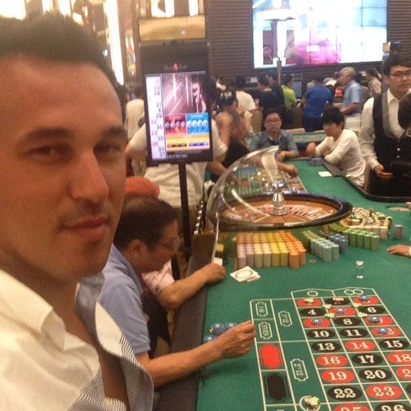 Photo taken at 세븐 럭 카지노 (Seven Luck Casino) by Gökhan K. on 7/17/2014