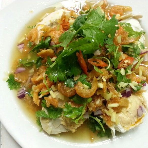 Photo taken at Yajai Thai Restaurant by Lek N. on 9/6/2013