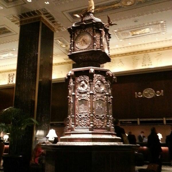 Photo taken at Waldorf Astoria New York by ✰ David M. on 3/7/2013