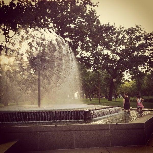Photo taken at Loring Park by john k. on 6/26/2013