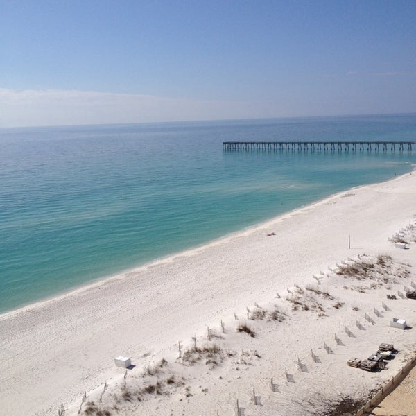 Photo taken at Hilton Pensacola Beach Gulf Front by Larry R. on 2/11/2014