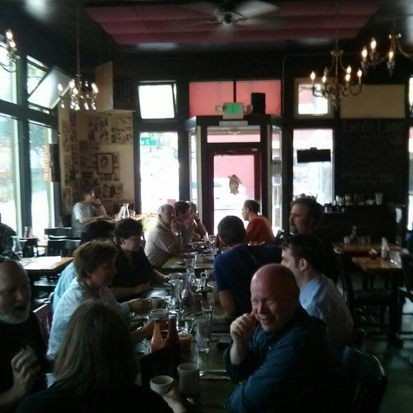 Photo taken at Louisa's Cafe & Bakery by John S. on 5/20/2014