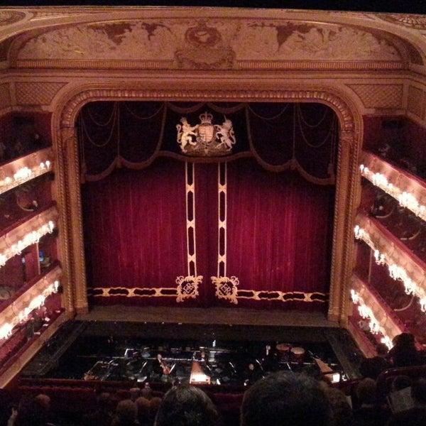 Photo taken at Royal Opera House by Eddy B. on 2/24/2014