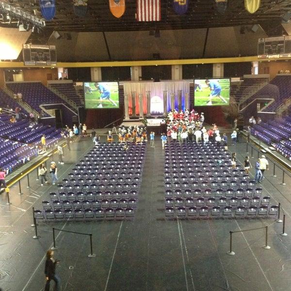 Photo taken at Allen Arena by Daniel D. on 5/17/2013