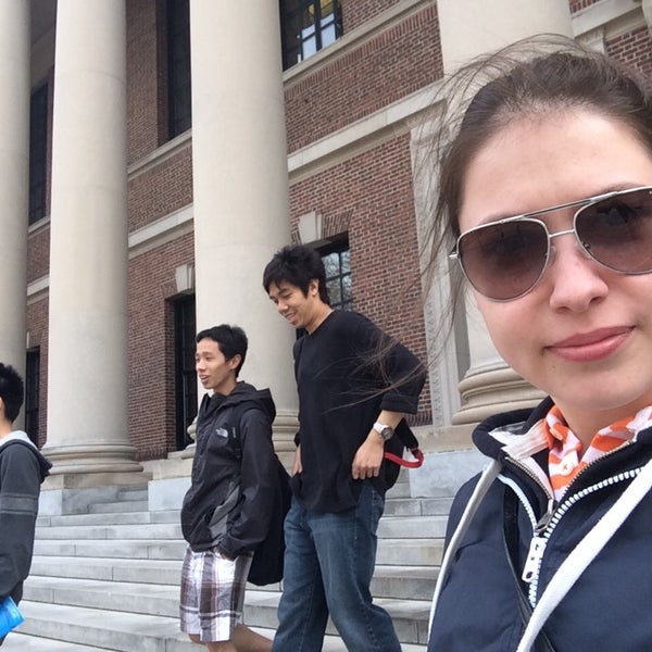 Photo taken at Widener Library by Oksana M. on 5/4/2014