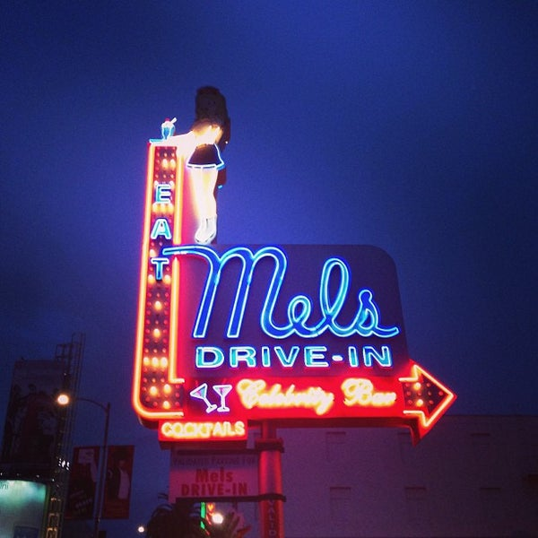 Photo taken at Mel's Drive-In by Joe M. on 12/26/2012