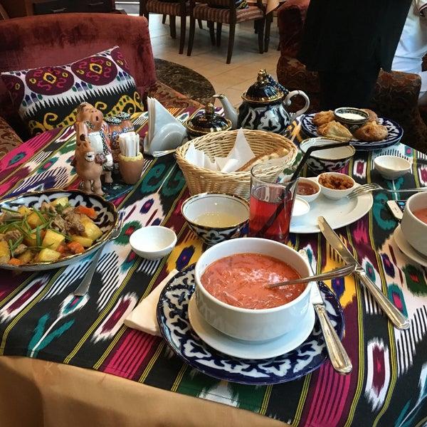 Photo taken at Gulnaz Cafe by Irina B. on 3/4/2016