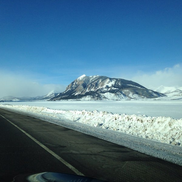 Photo taken at Crested Butte, CO by Daniel K. on 1/14/2014