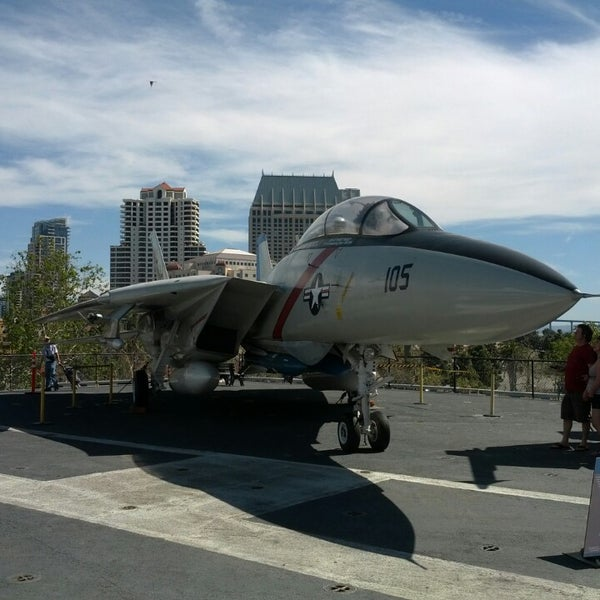 Photo taken at USS Midway Museum by E T. on 3/9/2014
