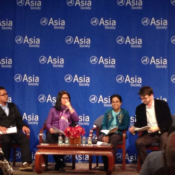 Photo taken at Asia Society New York by Zaw T. on 11/5/2014