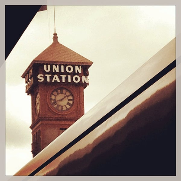 Photo taken at Union Station Amtrak (PDX) by Robbin G. on 6/19/2013