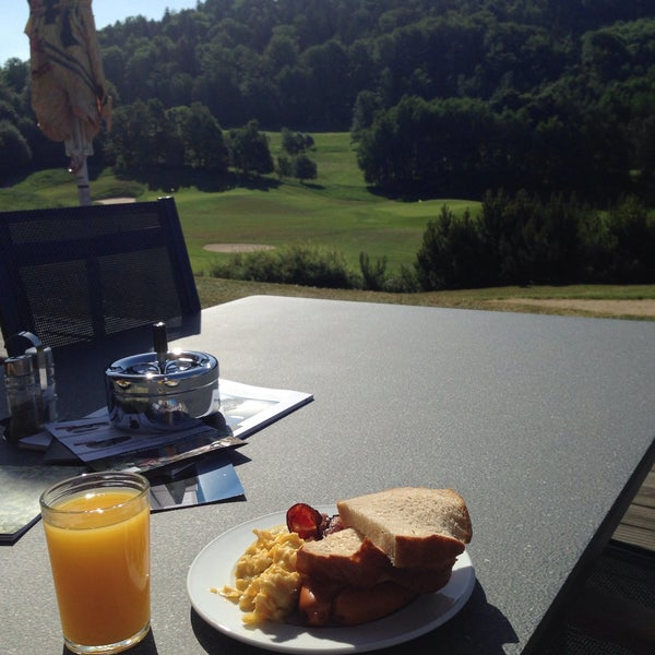 Photo taken at Ypsilon Golf Resort Liberec by Michal Š. on 6/4/2015