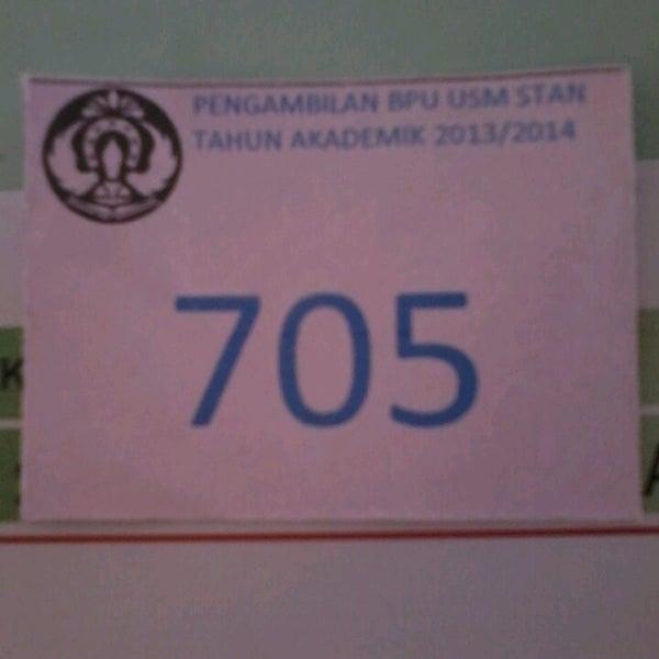 Photo taken at Sekolah Tinggi Akuntansi Negara (STAN) by Damaris W. on 7/9/2013