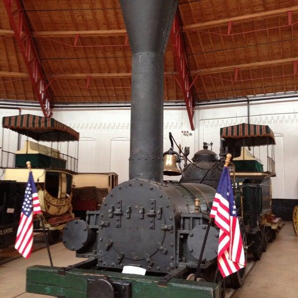 Photo taken at B & O Railroad Museum by Daniel K. on 5/18/2013