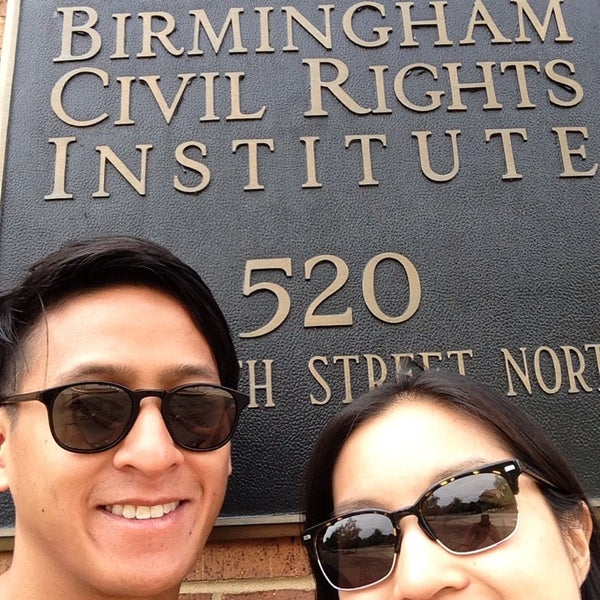 Photo taken at Birmingham Civil Rights Institute by Annie L. on 10/9/2013
