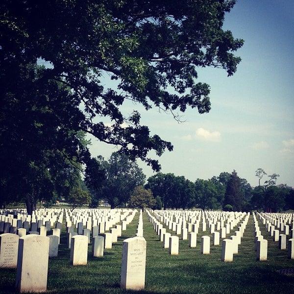 Photo taken at Arlington National Cemetery by María de los Ángeles L. on 5/22/2013