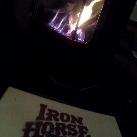 Photo taken at Iron Horse Brew Pub by Adelle W. on 2/8/2014
