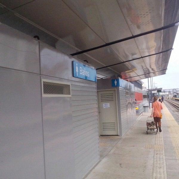 Photo taken at Estación Caballito [Línea Sarmiento] by Luis M. on 6/27/2015