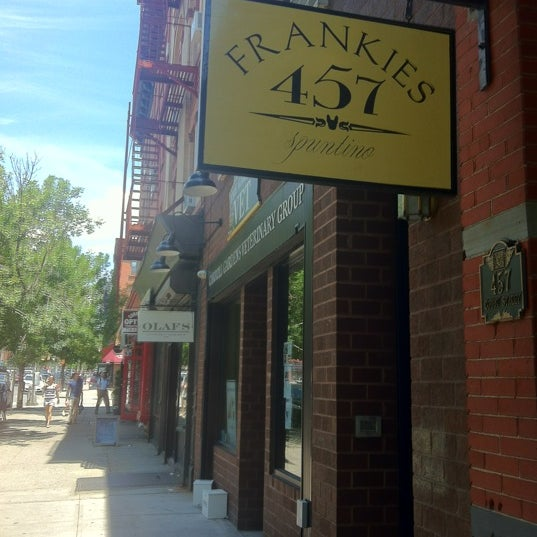 Photo taken at Frankies 457 by Jeremy G. on 6/7/2012
