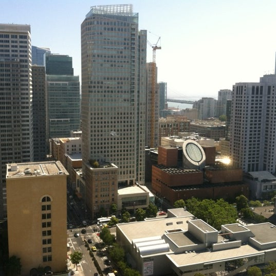 Photo taken at San Francisco Marriott Marquis by Greg D. on 7/24/2012