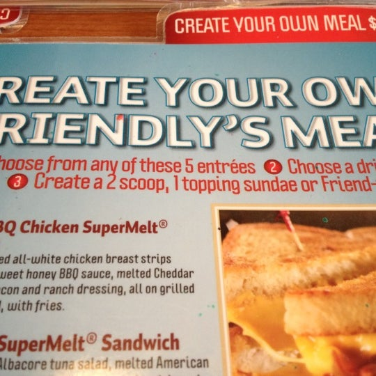 Photo taken at Friendly's by Bysil B. on 3/4/2012