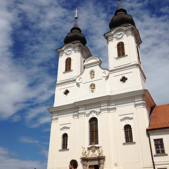 Photo taken at Tihanyi Apátság by Cherry L. on 7/12/2012